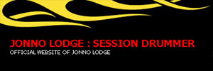 Jonno Lodge : Session Drummer